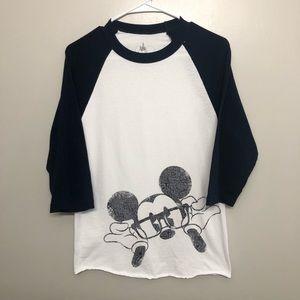 Disney Mickey Mouse Long sleeve shirt small